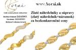 Zlaté náhrdelníky KORAI
